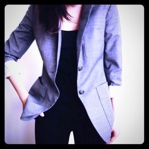 Gray Blazer / Coat